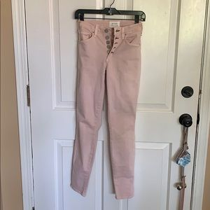 McGuire Newton Skinny pink jeans. Size 28